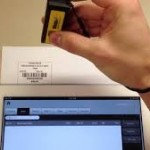 Wasp wireless pocket barcode scanner