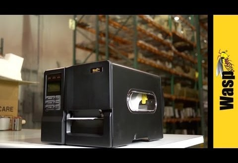 Flexible Wasp WPL304 Desktop Barcode Printer Offers 4 Ways to Connect, 2 Print Technologies