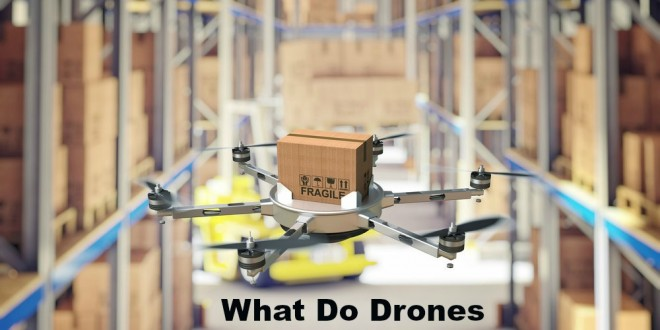 What Do Drones Mean For the Future of Warehouses?