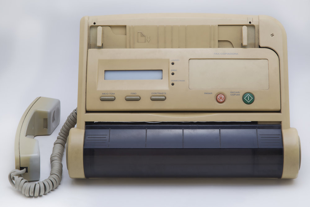 Probably one of the first fax machines, produced on the 70´s or early 80´s